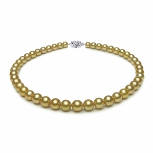 7.7 x 9.9mm Tahitian Pearl Necklace Serial Number | s9-dr06311g-b39