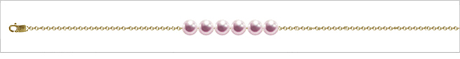 AAA Quality Add Pearl Necklaces—6 Pearl