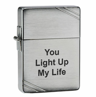 1935 Replica Zippo Lighter With Slashes