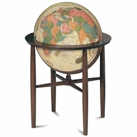 Austin Floor Globe In Antique by Replogle Globes