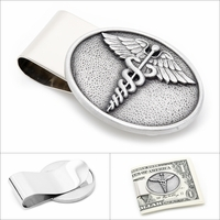 Caduceus Money Clip - Discontinued