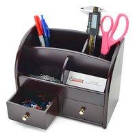 cherrywood desktop organizer