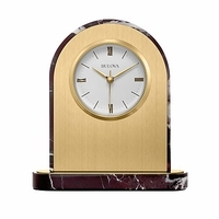Desire Desktop Clock By Bulova