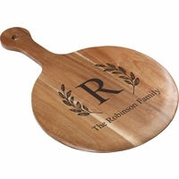 "Monogrammed 12"" Pizza Paddle"