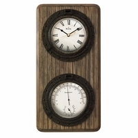 Monterey Weather Station Wall Clock By Bulova