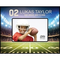 Personalized Football Picture Frame