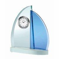 Windswept III Desktop Clock By Bulova