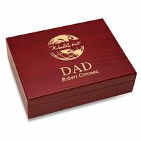 World's Best Dad  Golfball Case