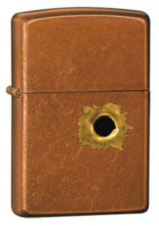 Bullethole Toffee Zippo Lighter - ID# 24717