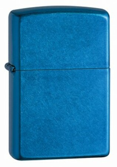 Cerulean Finish Zippo Lighter - ID# 24534