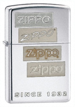Chrome Generations High Polish Chrome Zippo Lighter - ID# 24207 - Discontinued