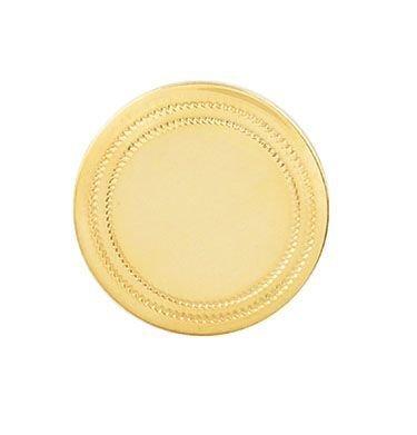 Circular Triple  Border 14 Karat Gold Tie Tack