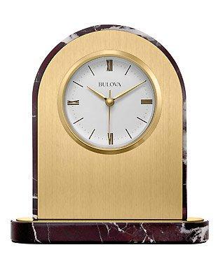 Desire Desktop Clock By Bulova