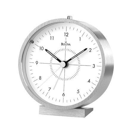 Flair Alarm Clock By Bulova