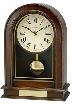 Hardwick Tabletop Clock By Bulova
