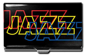 """Jazz"" Business Card Case"