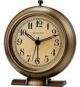 La Salle Alarm Clock By Bulova