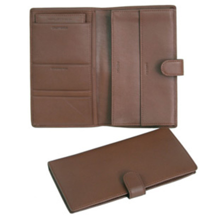 Leather Deluxe Passport & Travel Case