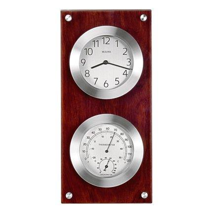 Mariner Weather Station Wall Clock By Bulova