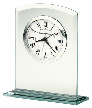 Medina Glass Alarm Clock by Howard Miller