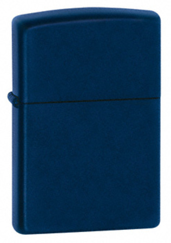 Navy Matte without Zippo Logo Zippo Lighter - ID# 239