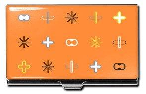 """Orange"" Business Card Case"