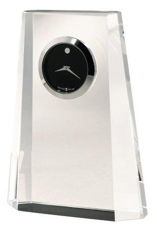 Paragon Pedestal Crystal Desk Clock by Howard Miller