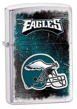 Philadelphia Eagles NFL Brushed Chrome Zippo Lighter - ID# Z722
