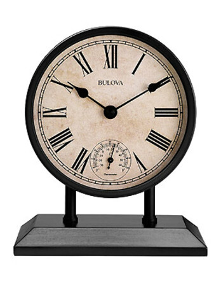 Plymouth Tabletop Clock By Bulova