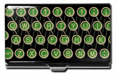 """""""QWERTY"""" Business Card Case - Discontinued"""