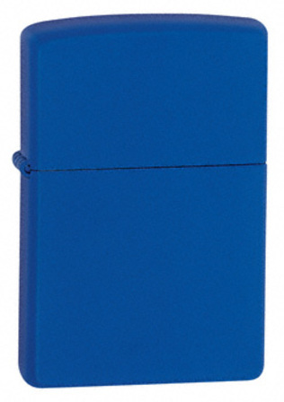 Royal Blue Matte without Zippo Logo Zippo Lighter - ID# 229