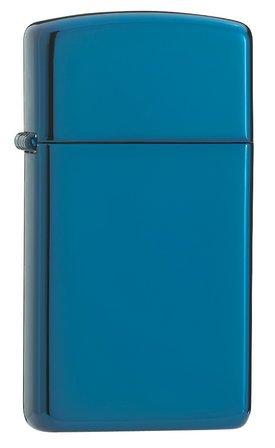 Slim Sapphire Zippo Lighter - ID# 20494