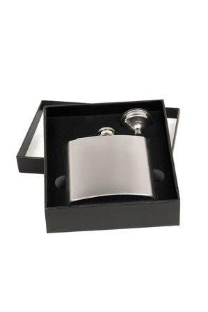 Personalized Steel Flask & Funnel Set