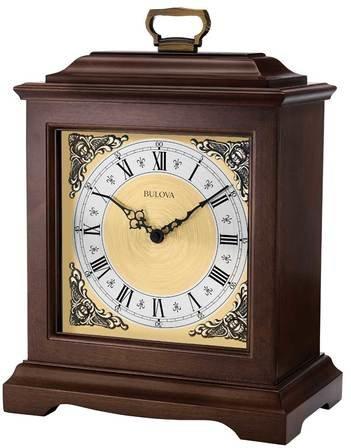 Thomaston Chiming Mantel Clock By Bulova