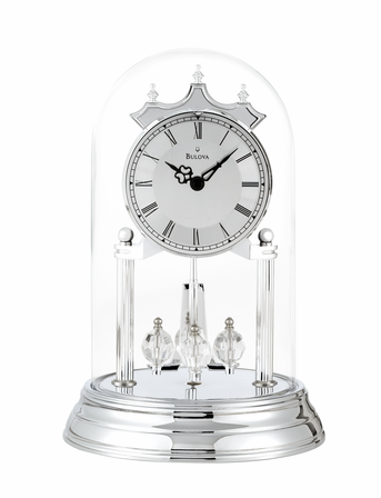 Tristan II Personalized Anniversary Clock by Bulova