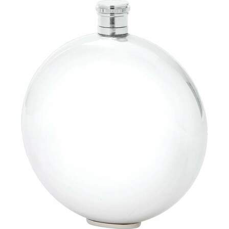 10 Ounce Round Flask - Discontinued