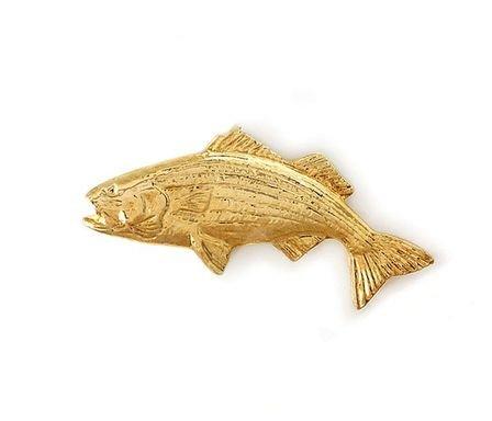 14 Karat Gold Fish Tie Tack