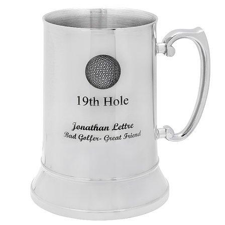 19th Hole Steel Mug