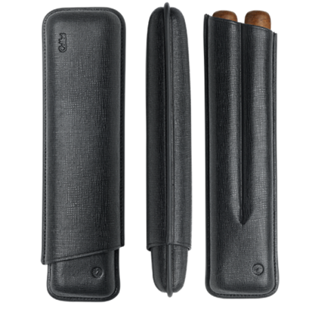 2 Finger Churchill Cigar Case by Colibri