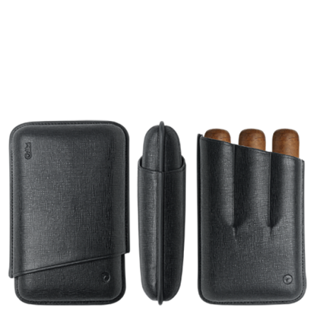 3 Finger Robusto Cigar Case by Colibri