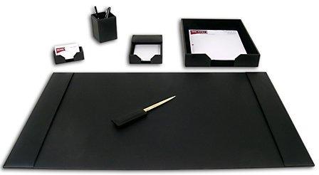 6 Piece Econo-Line Leather Desk Set