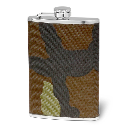 8 Ounce Camouflage Flask