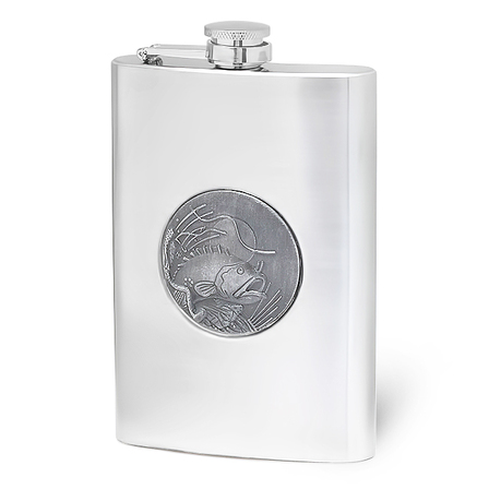 8 Ounce Fisherman's Flask - Discontinued