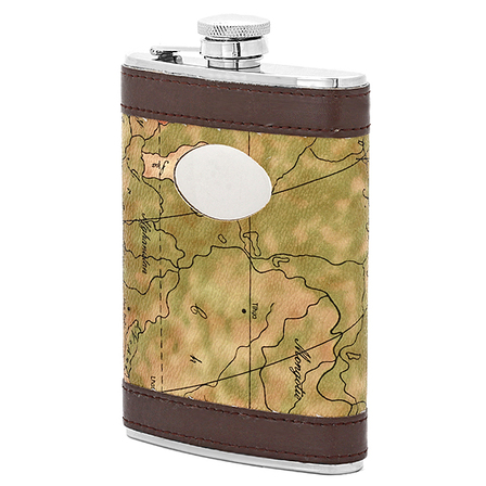 PersonalizedMap Of The World Flask