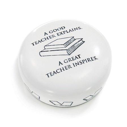 A Great Teacher Desktop Paperweight