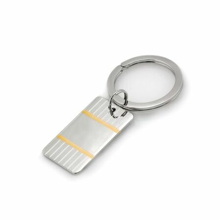 Accent Collection Sterling Silver Key Ring
