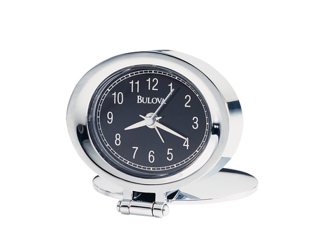 Adamo Personalized Travel Alarm Clock by Bulova