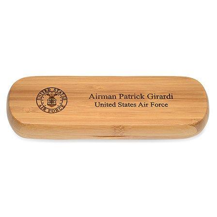 Air Force Bamboo Pen and Box Set