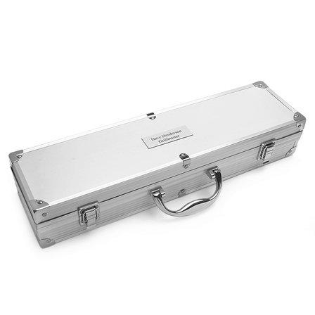 Aluminum 3 Piece BBQ Set