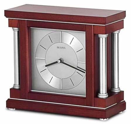Ambiance Personalized Mantel Clock by Bulova